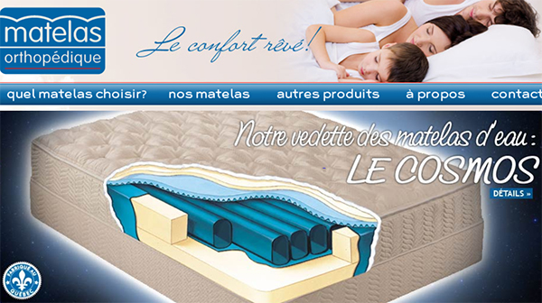 matelas orthop dique lits ajustables lits d 39 eau circulaire en ligne. Black Bedroom Furniture Sets. Home Design Ideas