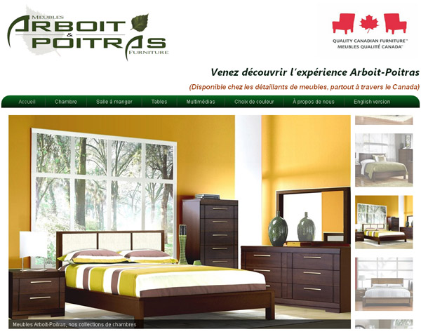 meubles arboit poitras circulaire en ligne. Black Bedroom Furniture Sets. Home Design Ideas