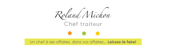 Roland Michon Chef Traiteur