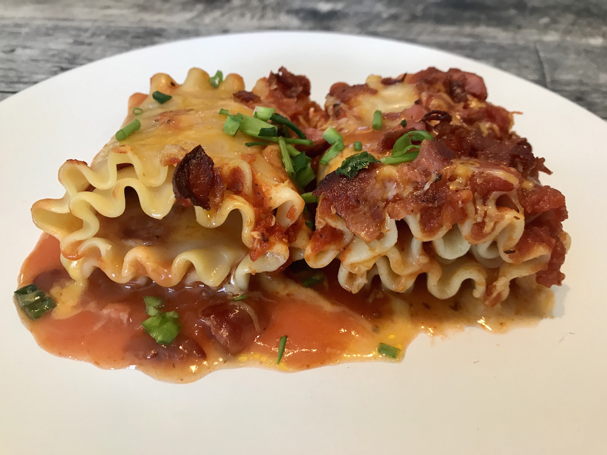 Lasagne Roulée Pepperoni Fromage